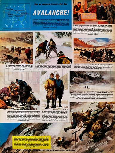 How We Conquered Everest: Avalanche!.
