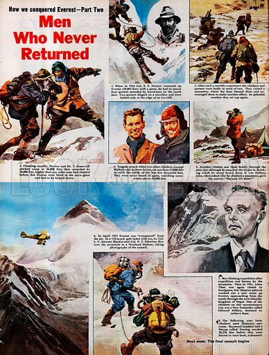 How We Conquered Everest: Men Who Never Returned.