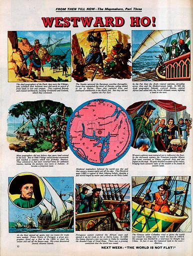 From Then Till Now: The Mapmakers -- Westward Ho!.