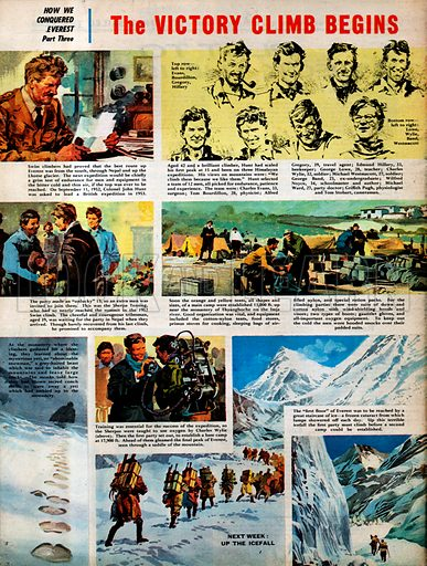 How We Conquered Everest: The Victory Climb Begins.