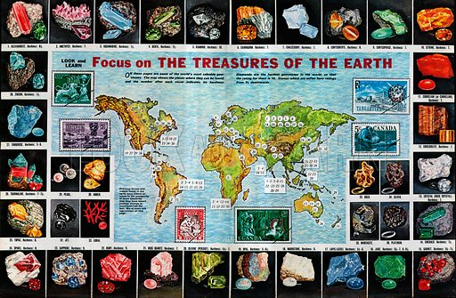 Focus on The Treasures of the Earth.