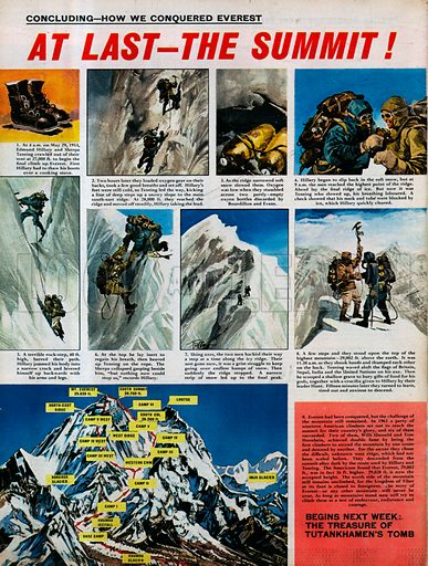 How We Conquered Everest: At Last -- The Summit!.