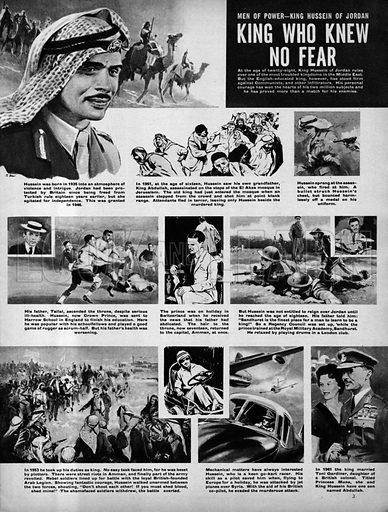 Men of Power: King Hussein of Jordan -- King Who Knew No Fear.