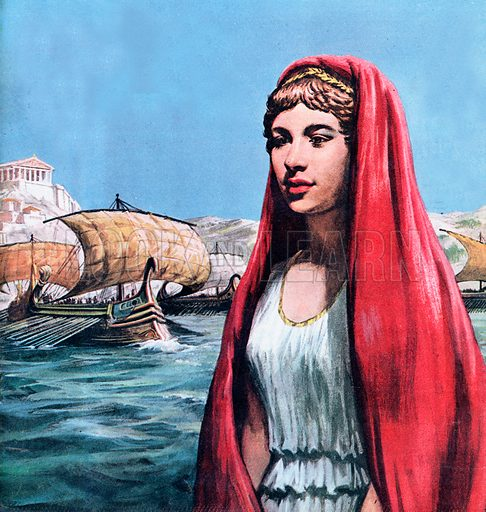 Was This the Face That Launched a Thousand Ships? -- What really happened? Helen of Troy was probably very rich and very beautiful, but it is doubtful whether the Greeks fought the ten-year long Trojan Wars for her sake alone.