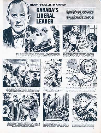 Men of Power: Lester Pearson -- Canada's Liberal Leader.