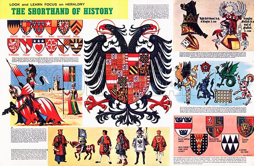 Look and Learn Focus on Heraldry: The Shorthand of History.