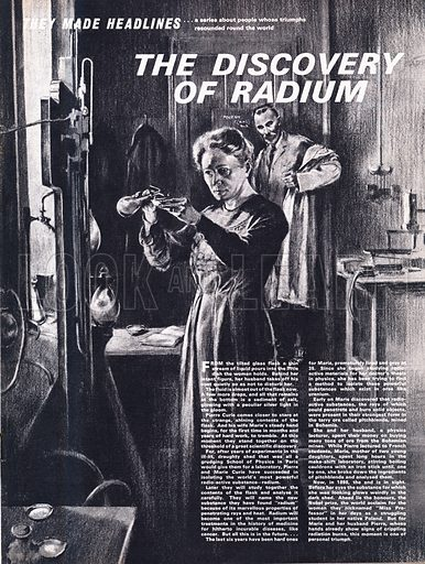 They Made Headlines: The Discovery of Radium.
