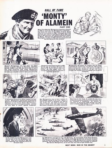 Hall of Fame: 'Monty' of Alamein -- Field Marshal Montgomery.