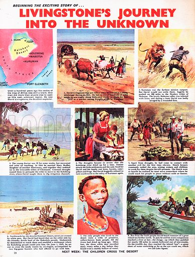 The Story of David Livingstone: Livingstone's Journey into the Unknown.