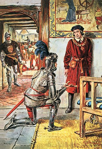 A Pageant of Kings: Henry VI -- The King Who Was Too Kind. Henry the Sixth hated war and lived only to study books and worship God ... and because of this England was plunged into a death-struggle that would cost the King his crown and his life. Professionally re-touched image.