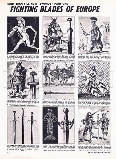 From Then Till Now: Swords -- Fighting Blades of Europe.