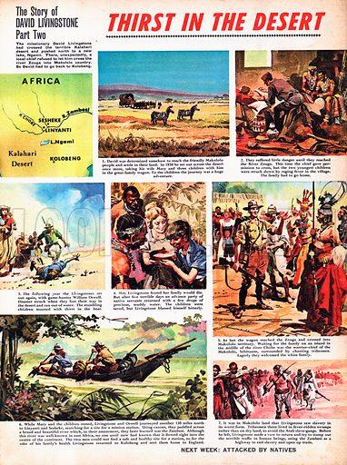 The Story of David Livingstone: Thirst in the Desert.
