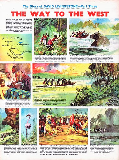 The Story of David Livingstone: The Way to the West.