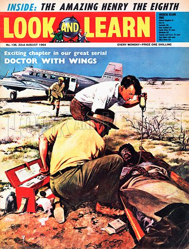 Doctor With Wings. The flying doctor of Australia.