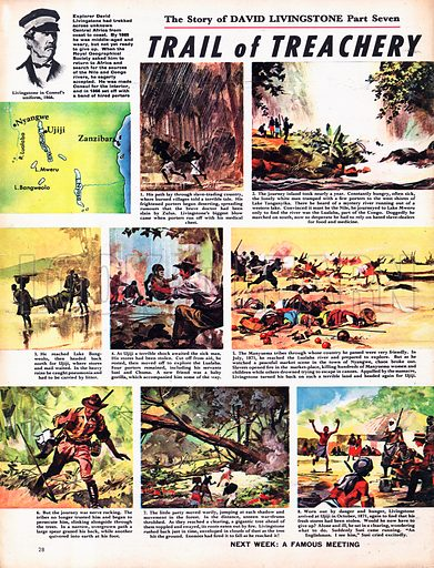 The Story of David Livingstone: Trail of Treachery.