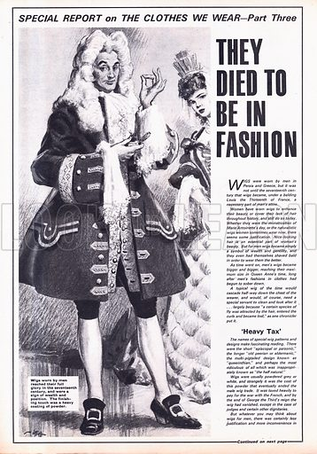 The Clothes We Wear: They Died to be in Fashion.