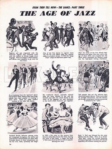 From Then Till Now: The Dance -- The Age of Jazz.