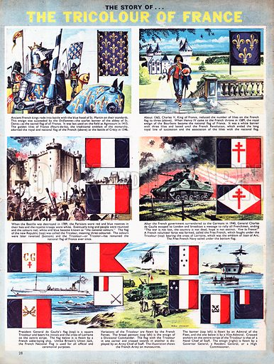 The Story of The Tricolour of France.