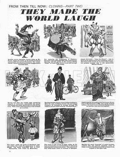 From Then Till Now: Clowns -- They Made the World Laugh.