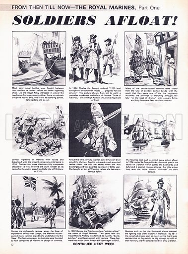 From Then Till Now: The Royal Marines -- Soldiers Afloat!.