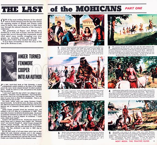 The Last of the Mohicans. Based on the novel by James Fenimore Cooper.