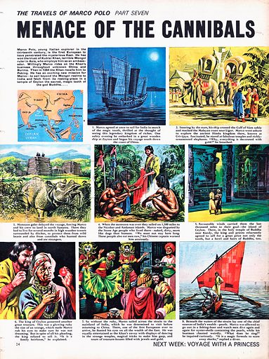 The Travels of Marco Polo: Menace of the Cannibals.