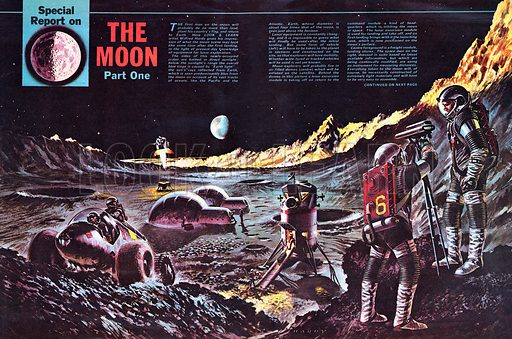 Special Report on The Moon.
