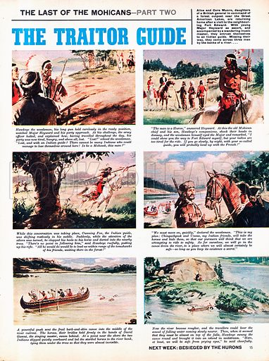 The Last of the Mohicans: The Traitor Guide. Based on the novel by James Fenimore Cooper.