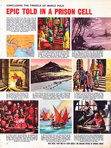The Travels of Marco Polo: Epic Told in a Prison Cell.