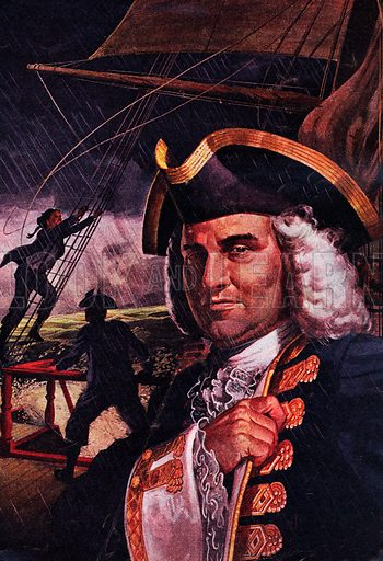 The Epic Voyage of Admiral Anson. A portrait of George Anson, who in 1740 was sent by the British Navy to the South Seas to harry the Spanish fleet, but ended up making a remarkable round the world trip which lasted four years.