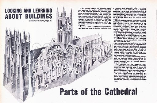 Looking and Learning About Buildings: Cathedrals.
