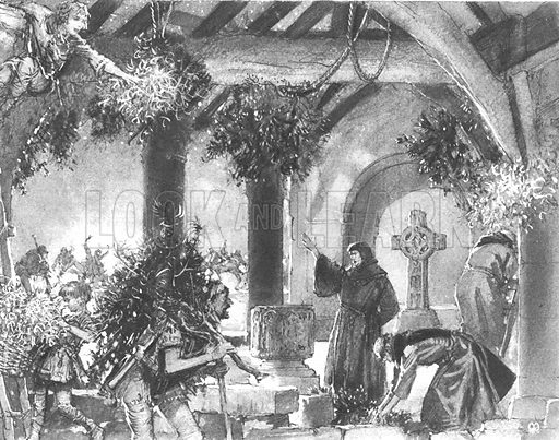 Christmas Through the Ages: The Most Wonderful Birthday of All. How Kenelm, the Saxon shepherd, celebrated Christmas in A.D. 700.