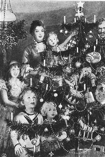 Christmas Through the Ages: Victorians Gave Us the Glittering Tree.
