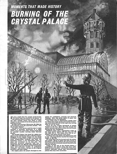 Moments That Made History: Burning of the Crystal Palace.