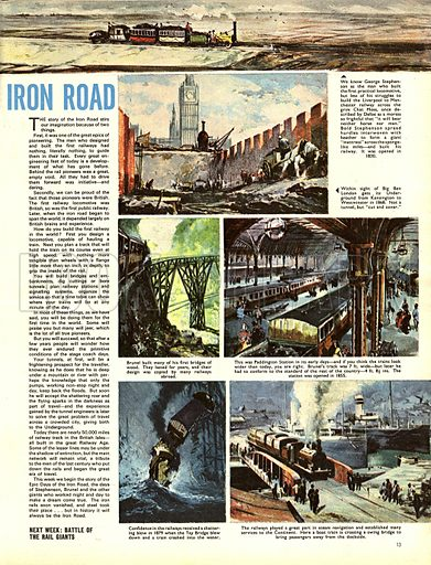 Epic Days of the Iron Road -- the history of railways.