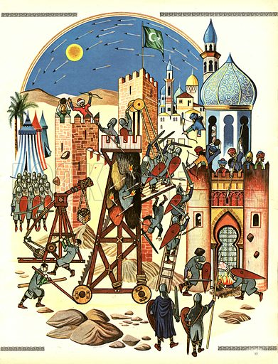 The Story of the Crusades: The Christians Capture Jerusalem.