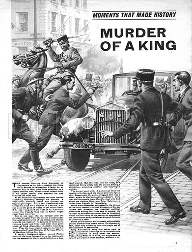Moments That Made History: Murder of a King -- the assassination of King Alexander of Yugoslavia in 1934.