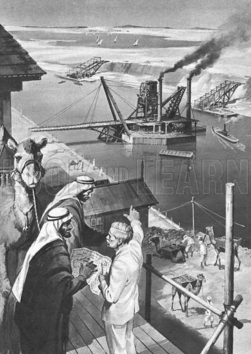 The Miracle Between Two Seas -- the Suez Canal.