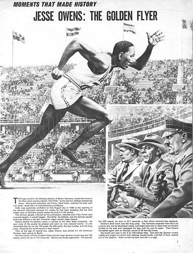 Moments That Made History: Jesse Owens -- The Golden Flyer.