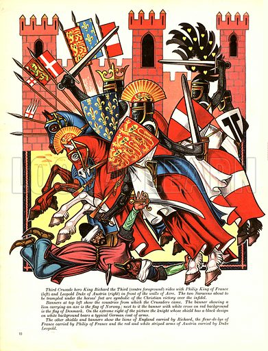 The Story of the Crusades: The Lionheart's Crusade.