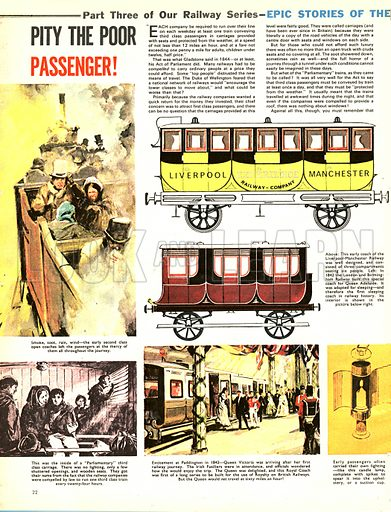 Epic Stories of the Iron Road: Pity the Poor Passenger!.