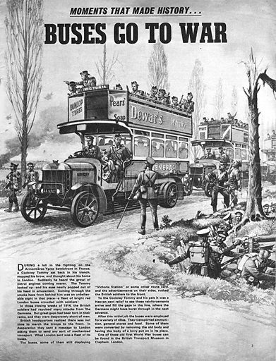 Moments That Made History: Buses Go To War.