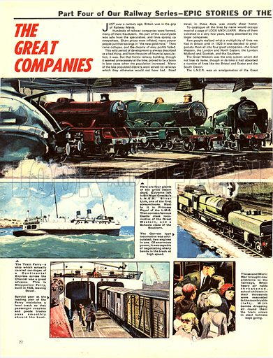 Epic Story of the Iron Road: The Great Companies.