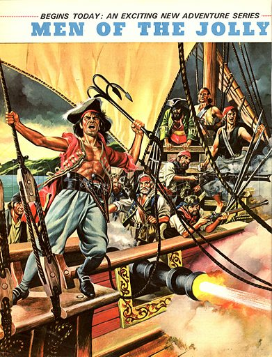 Men of the Jolly Roger. Blackbeard, Henry Morgan, Captain Kidd... these were some of the famous pirates who sailed under the Jolly Roger flag.