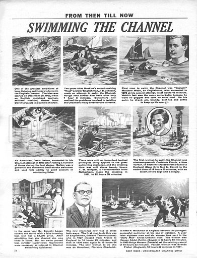 From Then Till Now: Swimming the Channel.