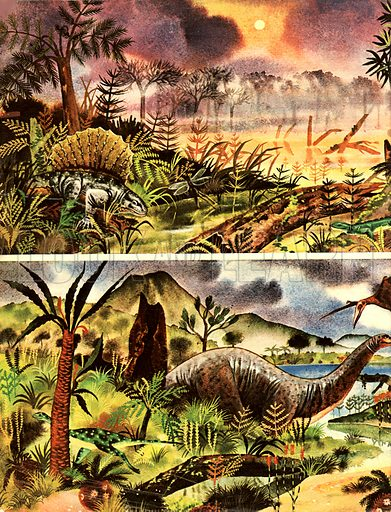 Prehistory, picture, image, illustration