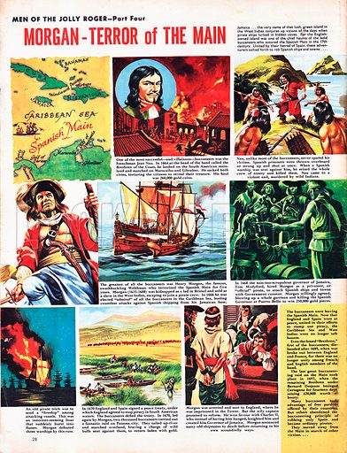 Men of the Jolly Roger: Morgan -- Terror of the Main.