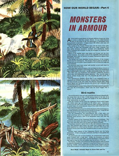 How the World Began: Monsters in Armour.