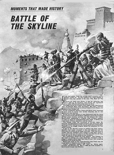 Moments That Made History: Battle of the Skyline -- the siege of Gyangtse.