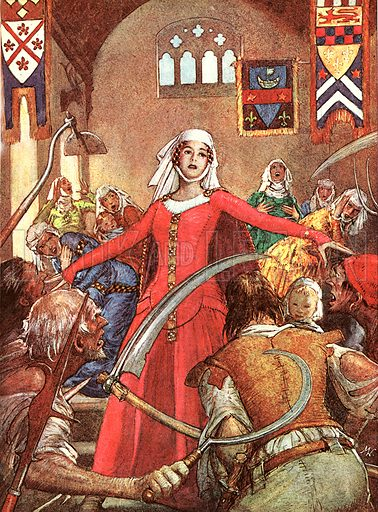 The Wonderful Story of France: Jack Goodfellow Loses His Temper... the peasants' revolt.